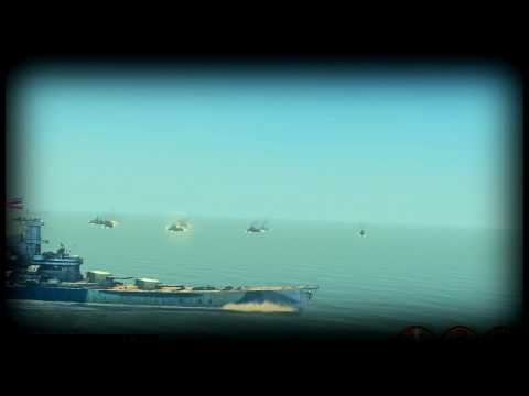 USS Iowa vs 20 Japanese Destroyers!!