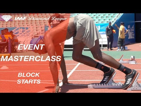 Event Masterclass: Driving out the blocks - IAAF Diamond League