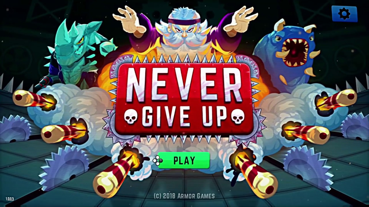 Never Give Up: Quick Look (Video Game Video Review)