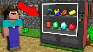 Minecraft NOOB vs PRO: WHAT CAN WIN NOOB IN TREASURE VENDING MACHINE? Challenge 100% trolling