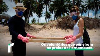 Os voluntários que peneiram as praias de Pernambuco
