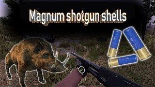 Will to live online Magnum shotgun shells + Fox Rifle