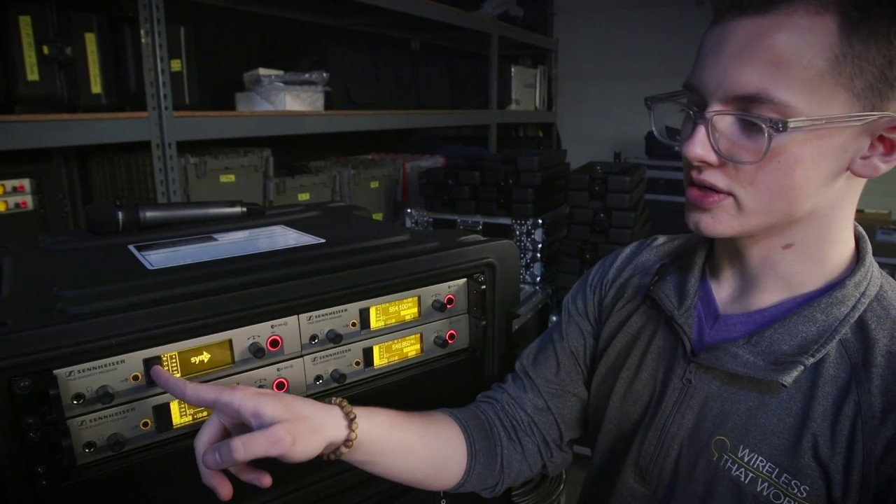Changing Frequencies on your Wireless Mics