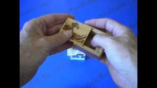2 Sun 10 Step Namiura Koyosegi Japanese Puzzle Box