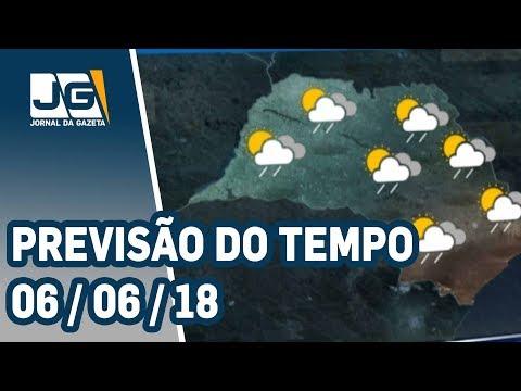 Previsão do Tempo - 06/06/2018