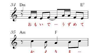 吉備路ひとりAmガイドボーカル、オリジナルキー