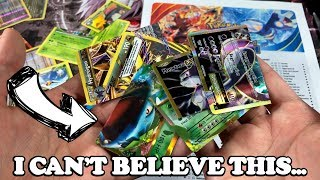 I RIPPED SO MANY RARE POKEMON CARDS.. IT'S UNBELIEVABLE!