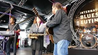 Bluesfest Eutin 2016  Jersey Julie Band (USA/F) 14.05.2016