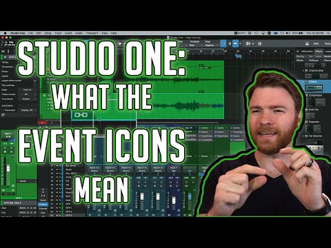 Studio One: Event Icons and what they mean