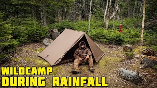 SOLO WILDCAMPING IN THE RAIN