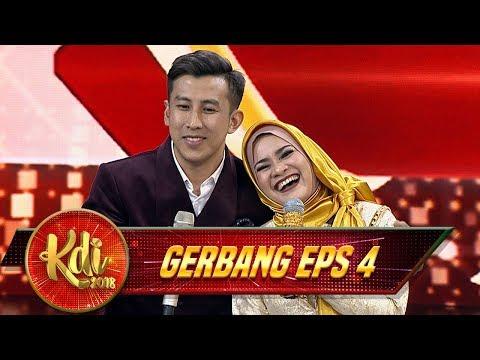 SO SWEET !! Duet Romantis Pramugara Dan Ikke Nurjanah [MEMANDANGMU] - Gerbang KDI Eps 4 (27/7)