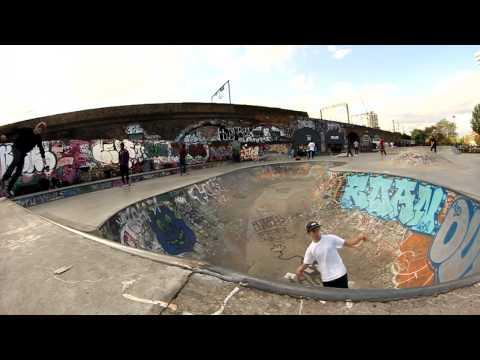StreetView #1 - LONDON - Mile End Skatepark