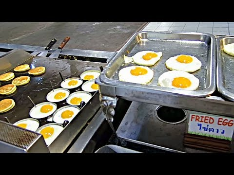 Bargain Breakfast Buffet, Pattaya, Thailand
