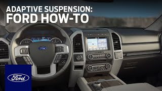 Adaptive Suspension | Ford How-To | Ford