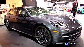 2018 Porsche Panamera 4 Sport Turismo - Exterior Interior Walkaround - 2018 Montreal Auto Show