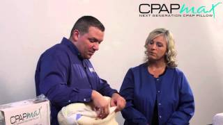 See How the CPAP Pillow Helps Improve Sleeping with a CPAP Mask
