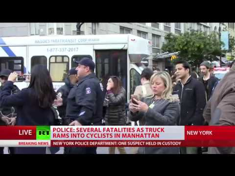 At least 6 dead and 12 injured in Manhattan terrorist attack