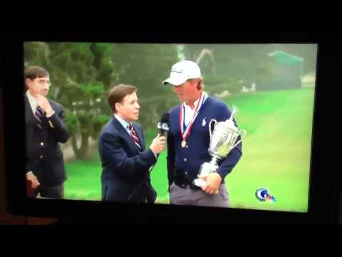 US Open: Heckler makes bird calls during Webb Simpson interview live on NBC