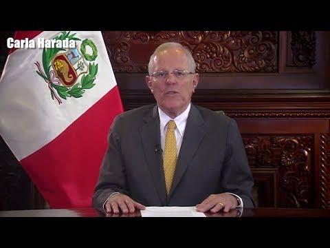 Presidente Pedro Pablo Kuczynski (PPK) contradice a Marcelo Odebrecht en mensaje a la Nación