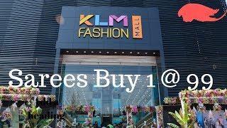 Exciting offers @ KLM Fashion Mall| Saree designs | Shopping Maul | Pattu Sarees