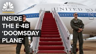 Inside The E-4B 'Doomsday Plane'