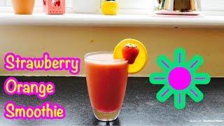 Weight loss Strawberry orange smoothie