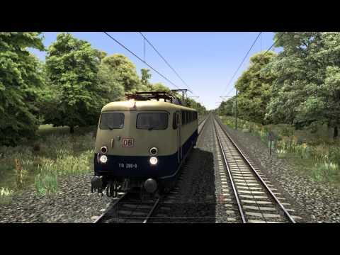 Vorstellung der BR 110 von GBE - Train Simulator 2014