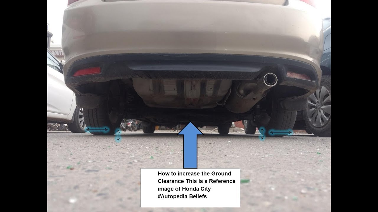 How To Increase Your Car Ground Clearance In Very Low Cost Know The Manufacturing Year Of Ur Tyre Youtube