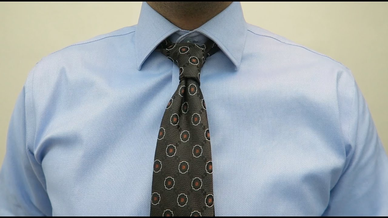 How to Tie a Prince Albert Knot - Simple & Stylish Tie ...