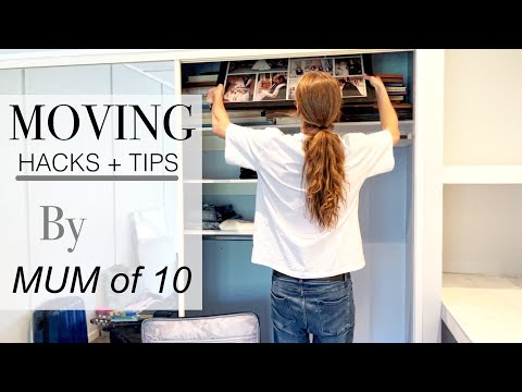 Moving Day / UNPACKING *ORGANIZATION + HACKS + TIPS With The Mom Of 10