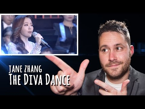 Jane Zhang - The Diva Dance | REACTION