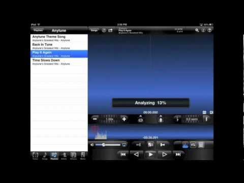 Tutorial: Overview - Anytune Music Slow Downer App for iOS