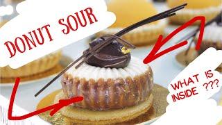 """Donut Sour Dessert Review / Обзор десерта """"Лаймовый пончик""""  (ENG SUBs)"""