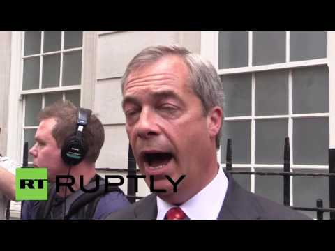 UK: UKIP's Farage slams Cameron ahead of 'Brexit' TV debate