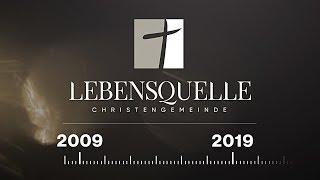 "10 Jahre Christengemeinde ""Lebensquelle"" — 10 лет христианской церкви ""Источник жизни"" — Timeline"