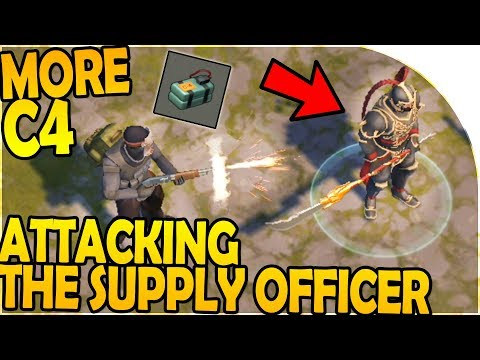 ATTACKING the CHINESE NEW YEAR SUPPLY OFFICER - MORE C4! - Last Day On Earth Survival 1.7.7 Update