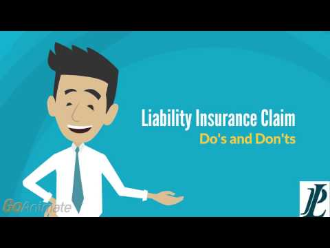 Liability Claim - Do's and Don'ts