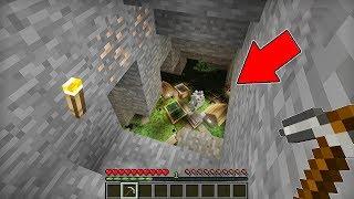 Minecraft Battle - NOOB vs PRO : NOOB DIG A MINE AND FOUND THIS UNDERGROUND VILLAGE ! (Animation)