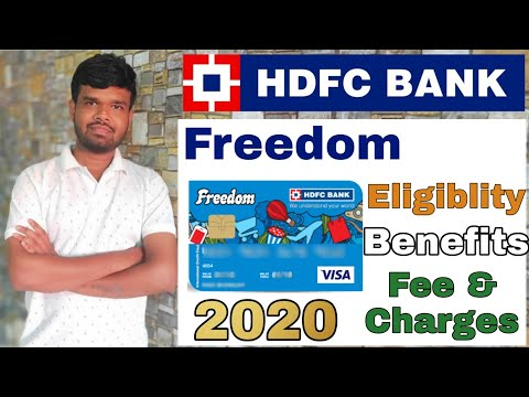 hdfc-freedom-credit-card-reviews-|-benefits-|-eligiblity-|-fee-and-charges