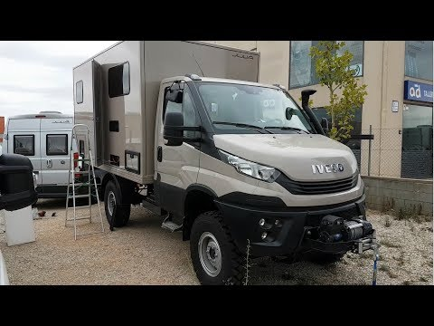Iveco daily 4x4 conversion to a Camper. 2018