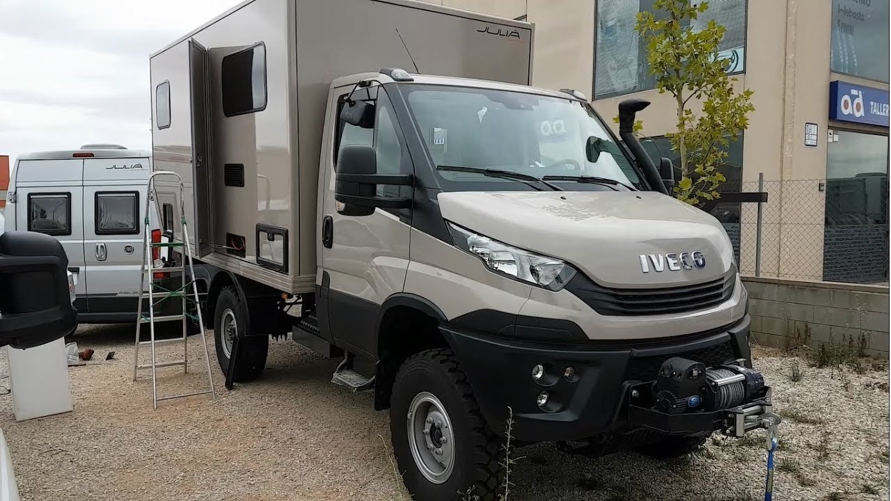 Iveco Daily 4x4 Camper >> Iveco Daily 4x4 Conversion To A Camper 2018 Youtube