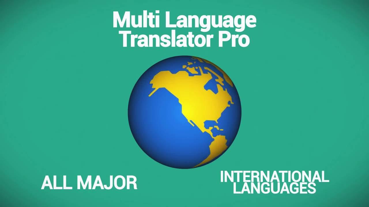Best Language Translation App -Multi Language Translator Pro - YouTubeBest Language Translation App -Multi Language Translator Pro