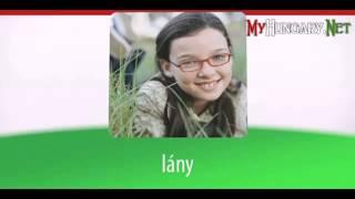 Видео уроки венгерского языка в картинках. Тема - 5 полезных слов на венгерском. Часть 1