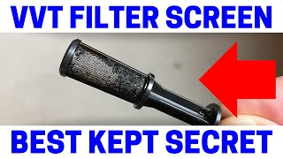 How To Replace Your Variable Valve Timing/Camshaft Timing FILTER SCREEN (P0012 Trouble Code)
