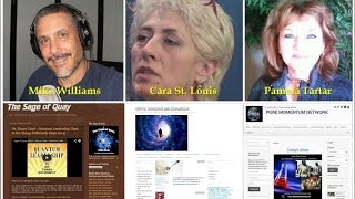 Sage of Quay Radio - Cara St. Louis & Pamela Tartar - Overcoming the Chaos (Sept 2014)