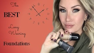 THE BEST LONG WEARING FOUNDATIONS | Oily, Mature Skin| Risa Does Makeup
