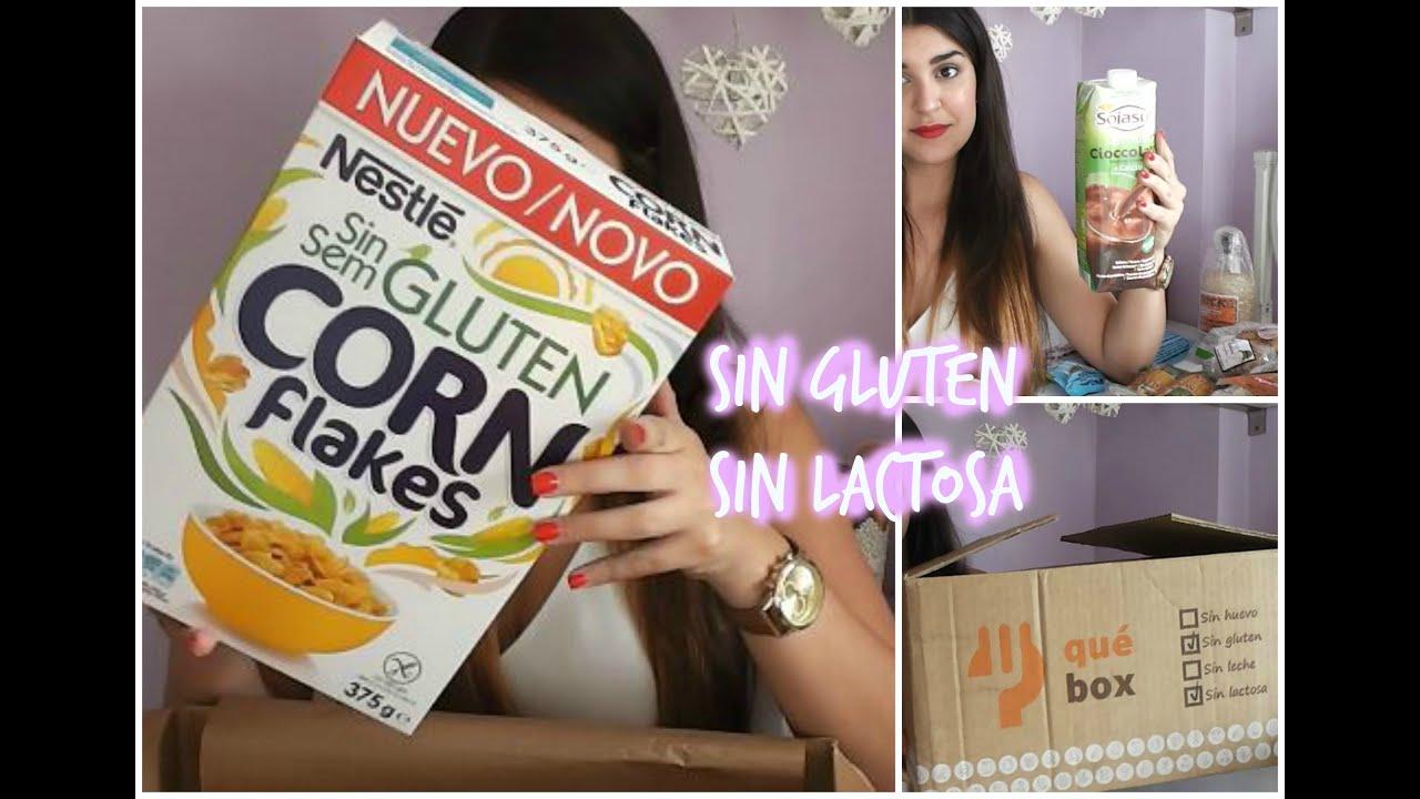 productos sin gluten - sin lactosa   qué box - youtube