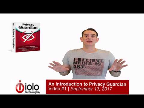 An introduction to iolo technologies' Privacy Guardian