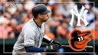 New York Yankees @ Baltimore Orioles | Yankee Highlights | 5/20/19