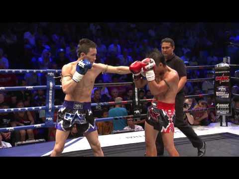 (KYRGYZSTAN VS THAILAND) Max Muay Thai Ultimate 2016 Match 5 ZHANYBEK VS  KHONKAENLEK